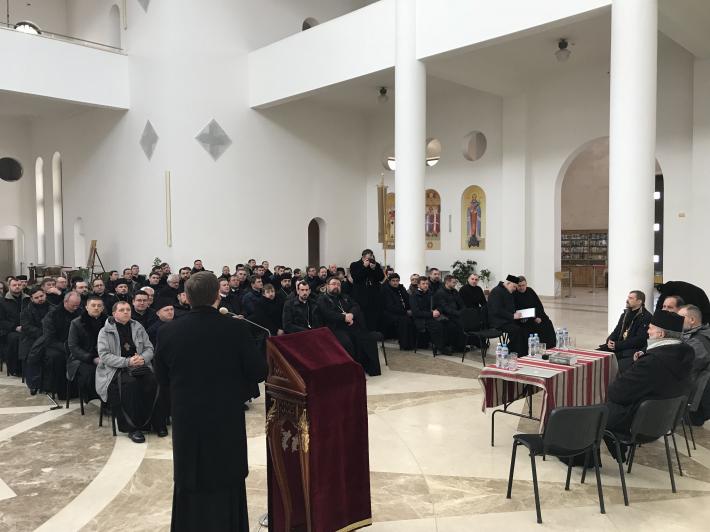 У Києві відбулася зустріч Постійного Синоду УГКЦ з духовенством Київської архиєпархії