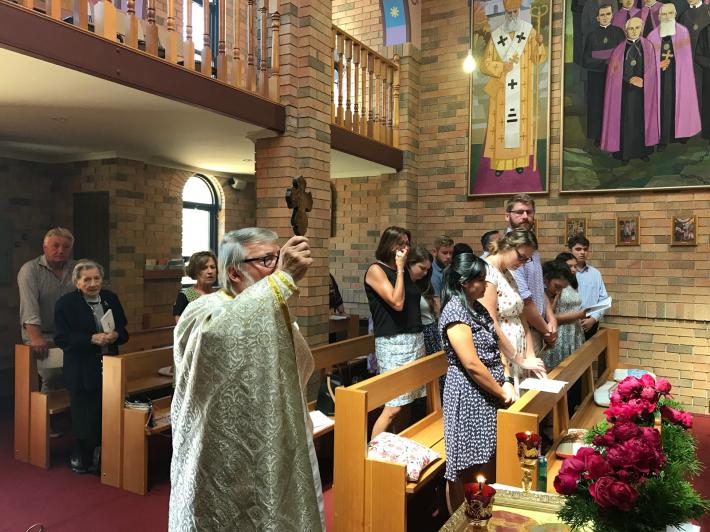 В Австралії відбулася поминальна Літургія за Героями Небесної cотні
