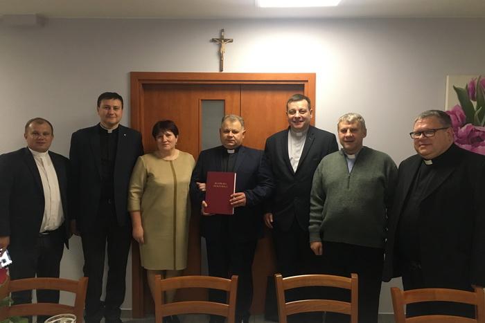 Священик Тернопільсько-Зборівської архиєпархії став доктором правничих наук