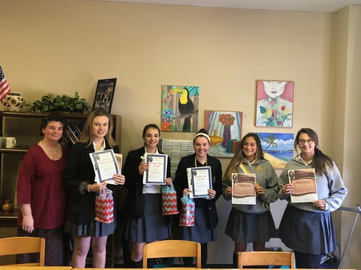 В Академії святого Василія відбувся конкурс декламації на честь Лесі Українки