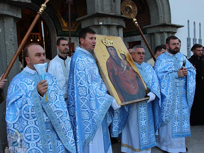 До собору Святої Софії у Римі прибула ікона Зарваницької Матері Божої