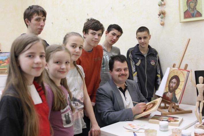 Іконописна школа «Капеланчики» завершує навчальний семестр