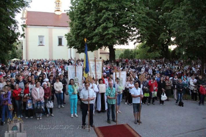 Спільноти «Матері в молитві» організували ХІ пішу прощу до Зарваниці