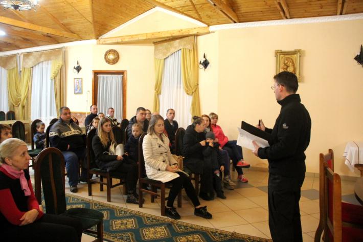 Військові – учасники АТО з родинами відпочили у Зарваниці
