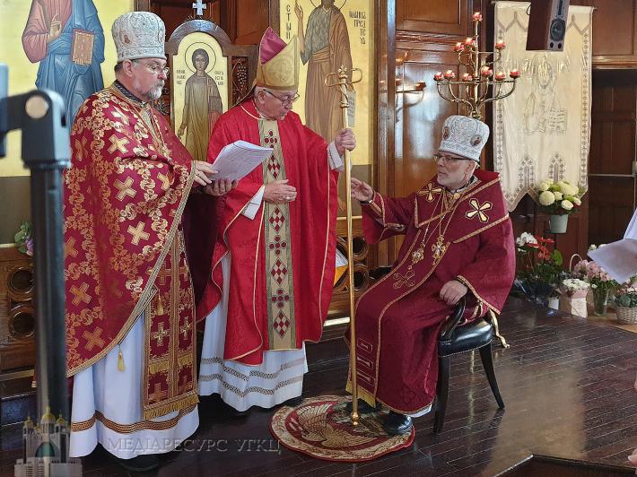 У Лондоні відбулася інтронізація нового правлячого єпископа УГКЦ