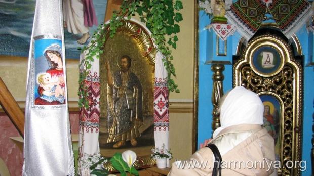 В Улашківському монастирі відзначили пам'ять святого Івана Христителя