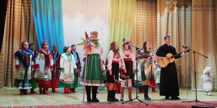 «Велика коляда» Житомирського протопресвітерства пройшла у Новограді-Волинському