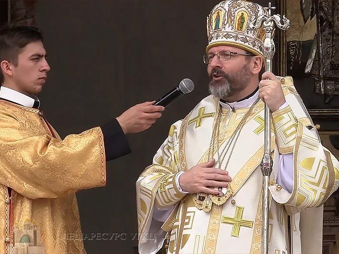 Глава УГКЦ у Крехові: «Ми сьогодні дякуємо Богу за 400 років відродження Василіанського чину»