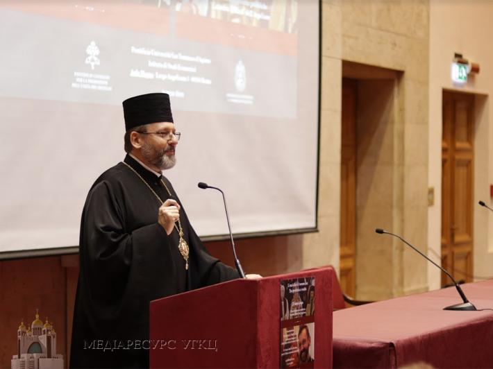 «Сопричастя з Єпископом Рима є істиною віри та складовою ідентичності нашої Церкви», — Глава УГКЦ в Римі