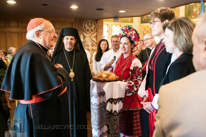 Saint Josaphat Cathedral opened its doors for a much-anticipated visit from Cardinal Leonardo Sandri