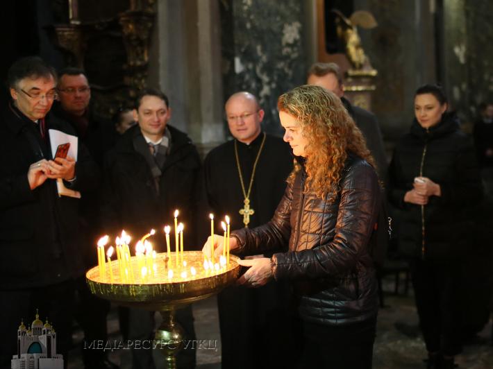Генерал-губернатор Канади відвідала гарнізонний храм Святих апостолів Петра і Павла у Львові