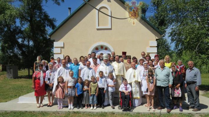 Єпископ Йосиф (Мілян) на Черкащині освятив новий храм УГКЦ