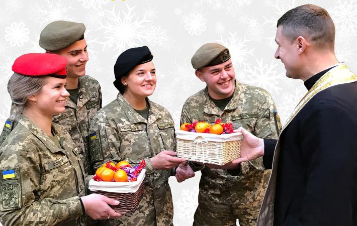 Львів'ян закликають підтримати проєкт «Святий Миколай для військових»