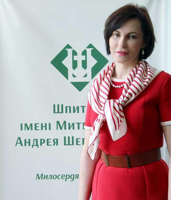 Головний лікар Шпиталю Шептицького увійшла до складу госпітальної ради Львівщини