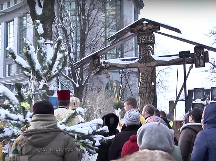 «Сьогодні диявол пропонує нам обміняти свободу на ковбасу і хліб», — Глава УГКЦ під час молитви з родичами загиблих на Майдані