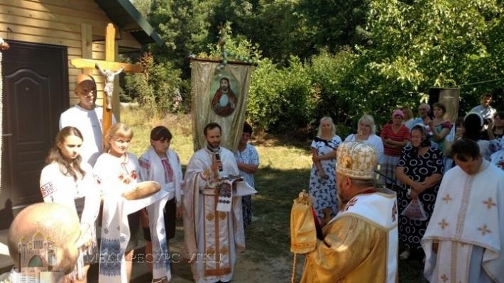Митрополит Василь (Семенюк) заснував чергову духовну станицю на Хмельниччині