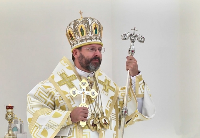 Глава УГКЦ: «Сьогодні нам образ Петра каже: взивайте, шукайте. Бог є поруч»