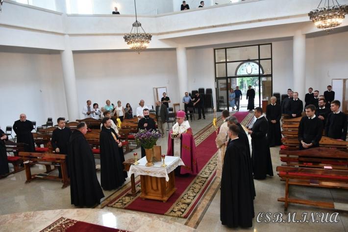 Новий академічний рік у Василіанській семінарії розпочався зі святителем Миколаєм