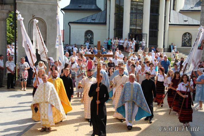 У Гошівському монастирі відбулося свято чудотворної ікони Божої Матері
