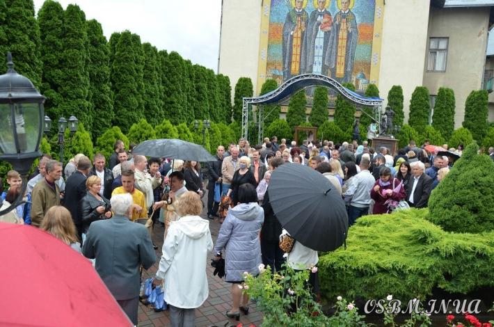 У дрогобицькому монастирі Святих верховних апостолів Петра і Павла відсвяткували храмовий празник