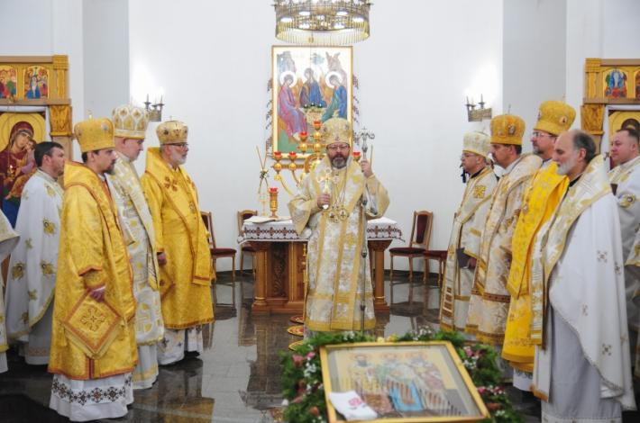 На семінарійний празник до Київської семінарії завітав Блаженніший Святослав разом із членами Постійного Синоду Єпископів УГКЦ