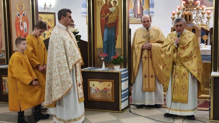 У луцькому монастирі Святого Василія Великого врочисто відзначили ювілей свого першого настоятеля