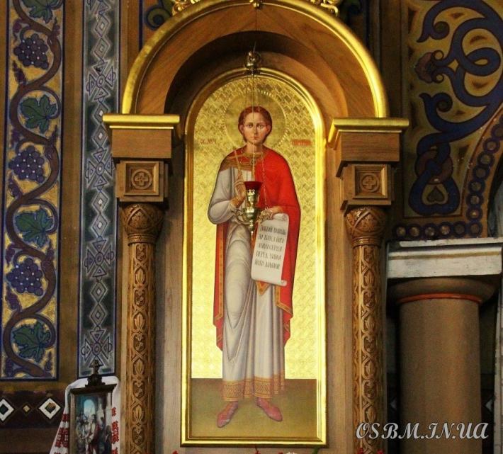 Отці василіяни запрошують до Жовківського монастиря з нагоди вшанування святого мученика Партенія