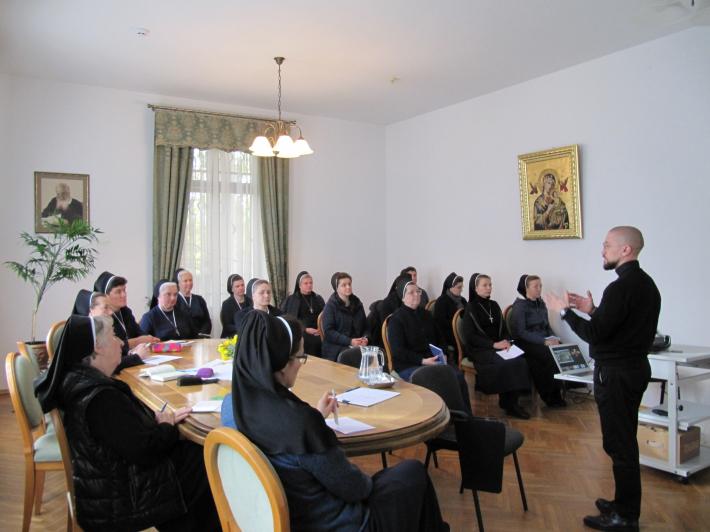 У Львові для сестер служебниць презентували послання Глави УГКЦ «Наша Свята Софія»