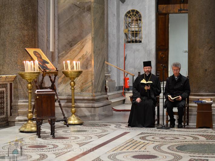 Глава УГКЦ відвідав Спільноту святого Егідія в Римі