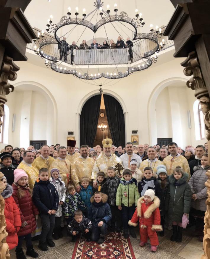 «Від нашого світла залежить світлість днів майбутньої Церкви і України», - єпископ Йосиф Мілян у Броварах
