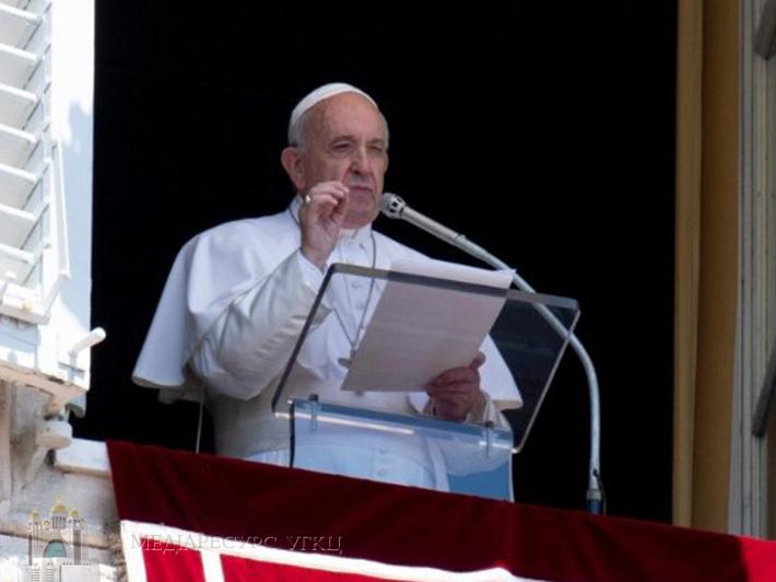 Папа Франциск привернув світову увагу до ситуації в Україні