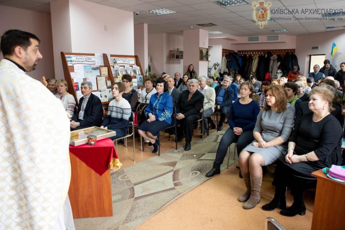 У Дарницькому районі, у парафії УГКЦ, провели День великопісної духовної віднови