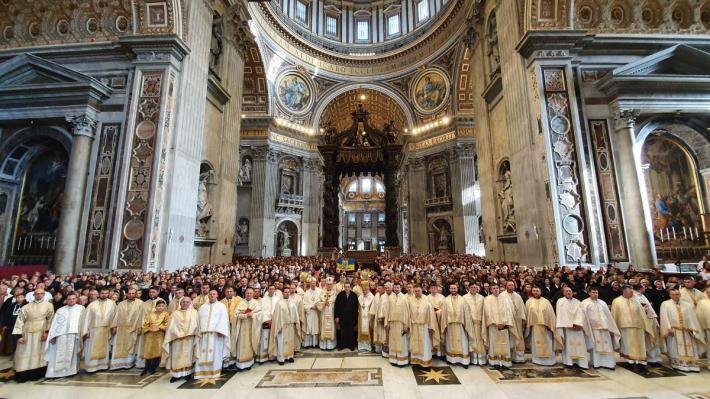 Українці провели традиційну різдвяну прощу до папської базиліки святого Петра у Ватикані