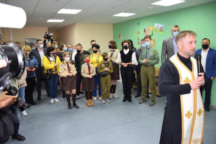 Священник УГКЦ узяв участь у відкритті пластового молодіжного центру в Києві