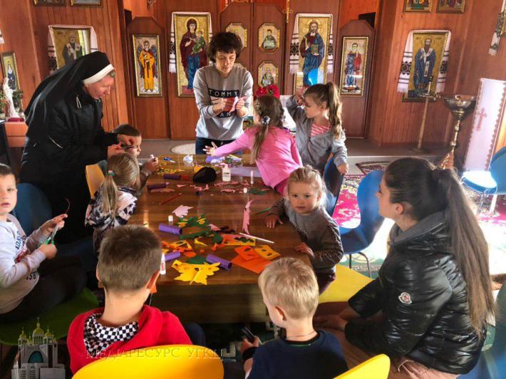 У Полтаві греко-католики третій рік поспіль організовують християнський мінідитсадок