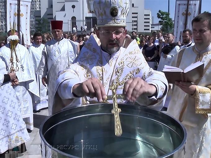 Владика Богдан (Дзюрах): «Молитва, єднання, служіння в любові − елементи наріжного каменю Патріаршого собору»