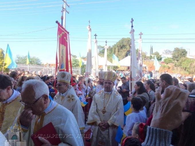 У Бразилії Блаженніший Святослав звершив Чин інтронізації нового правлячого єпископа УГКЦ (+ аудіо)
