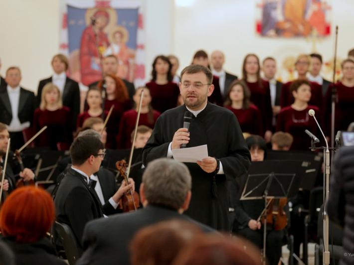 У Патріаршому соборі Воскресіння відбувся концерт духовної музики «Великого бажайте…»