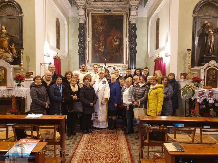 Владика Діонісій Ляхович відвідав з душпастирським візитом новозасновану парафію в Санремо
