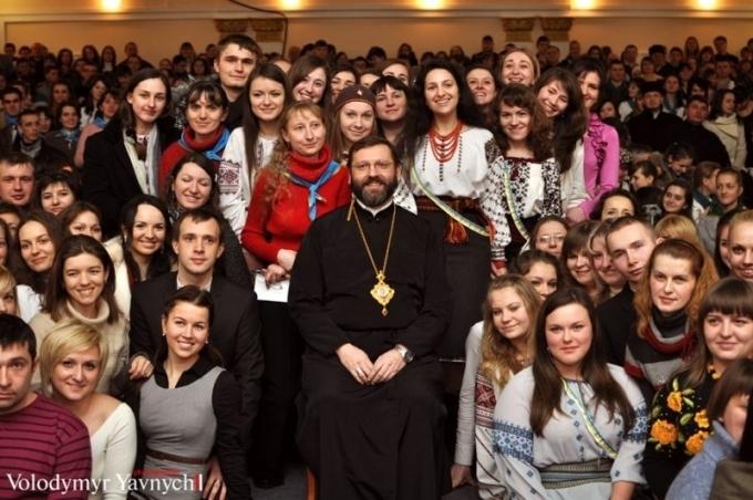 Послання Блаженнішого Святослава до молоді на Квітну неділю
