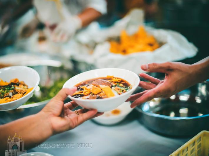 У Чернівецькій єпархії започатковували благодійну акцію «Оплати обід нужденному»