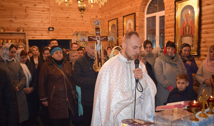 У парафії УГКЦ у Смілі перебували мощі дванадцятьох апостолів Христових