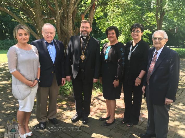 Глава УГКЦ обговорив з управою Товариства «Свята Софія» (США) перспективи розвитку і співпраці