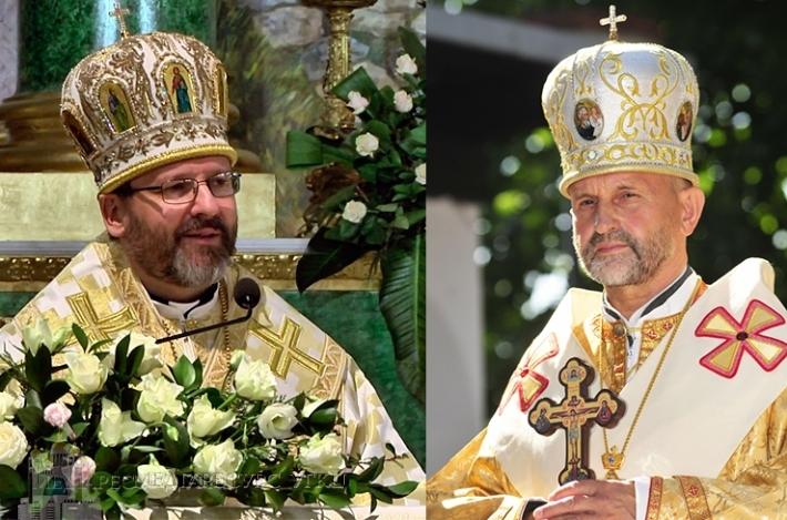 Блаженніший Святослав привітав владику Ігоря, Архиєпископа і Митрополита Львівського, із 65-річчям