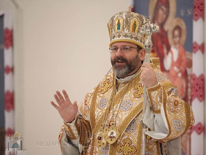 Блаженніший Святослав: «У лікуванні будь-якої залежності важливо повірити, що можна визволитися від цього»