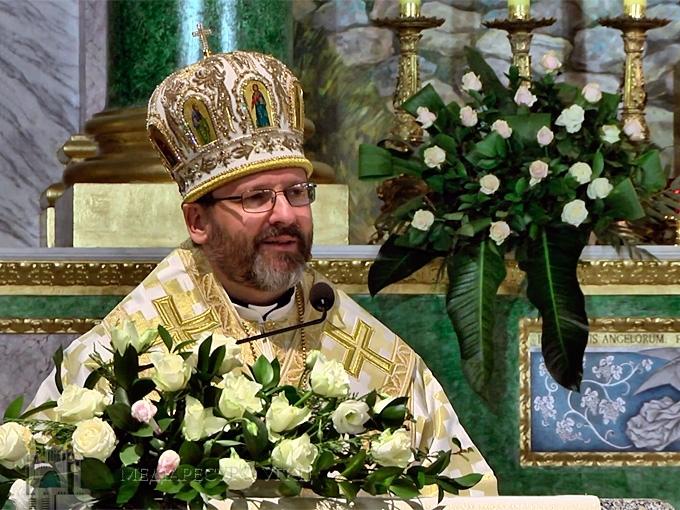 Президент України та Прем'єр-міністр України привітали Блаженнішого Святослава з нагоди десятиліття його єпископської хіротонії