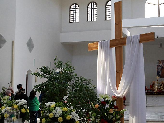 «З Хреста виходить важливий меседж християнства - існує примирення та прощення гріхів», - Глава УГКЦ у Страсну п