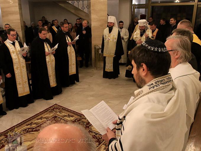 Глава УГКЦ під час молитви за єдність християн: «Є багато того, що нас об