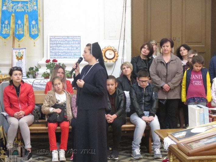 Ікона блаженної Йосафати Гордашевської перебувала в італійських містах Аверса та Мондрагоне