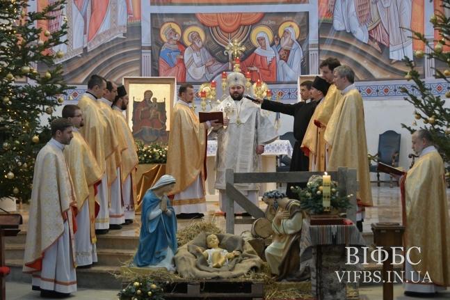 У семінарії отців василіан відбулася щорічна монаша коляда